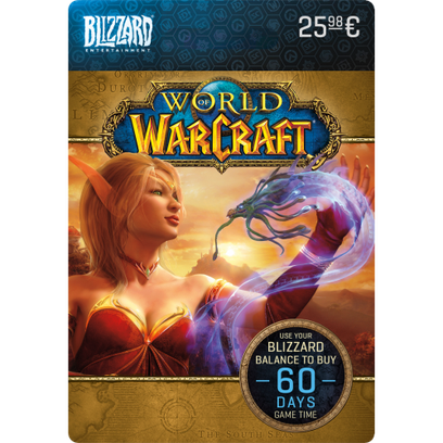 World of Warcraft 60 dagen eGift