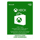 Xbox Digital Gift Card €10