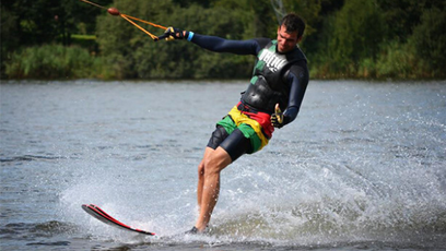 Waterskiën of wakeboarden