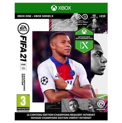 Medewerkerskorting (10%) - FIFA 21 Champions Edition (XBOX One)