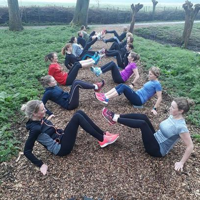 Bootcamp bij Outdoor Fris en Fit